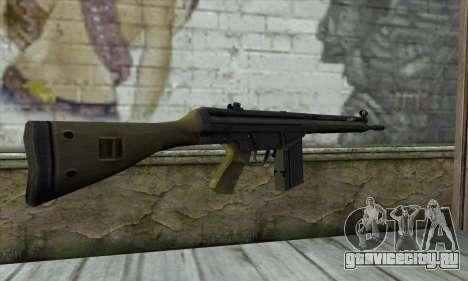 G3A3 для GTA San Andreas второй скриншот