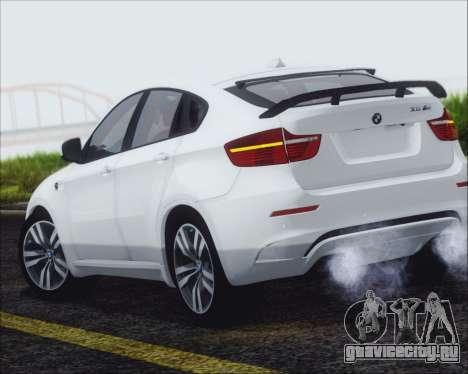 BMW X6 M 2013 Final для GTA San Andreas вид слева