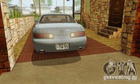 Lexus SC300 v1.01 [ImVehFT] для GTA San Andreas вид сбоку