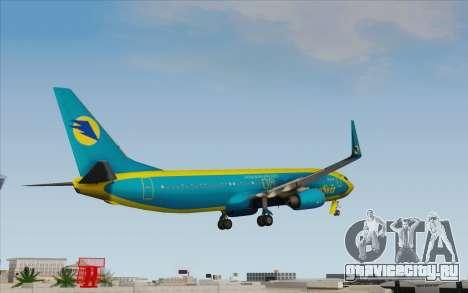 Boeing 737-800 AeroSvit Ukrainian Airlines для GTA San Andreas