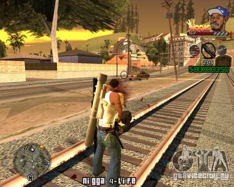 C-HUD Niggas для GTA San Andreas второй скриншот