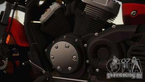 Yamaha Star Stryker 2012 для GTA San Andreas вид сзади слева