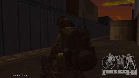 Ranger из Call Of Duty: Ghosts для GTA San Andreas шестой скриншот