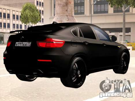 BMW X6 Hamann для GTA San Andreas двигатель