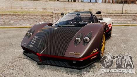 Pagani Zonda C12 S Roadster 2001 PJ4 для GTA 4