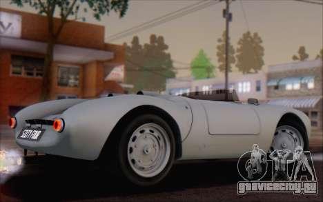 Porsche 550 Spyder 1955 для GTA San Andreas вид слева