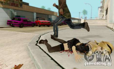 Babydoll Skin для GTA San Andreas