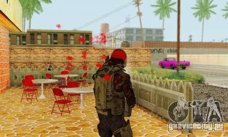 Blood On Screen для GTA San Andreas третий скриншот