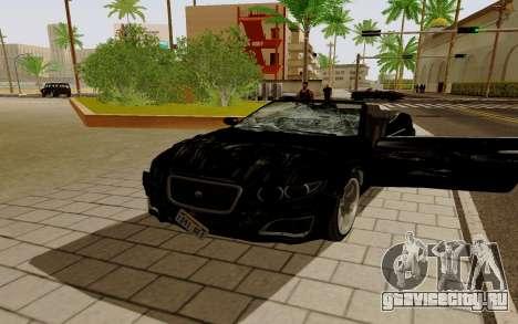 GTA 5 Lampadati Felon GT V1.0 для GTA San Andreas вид слева
