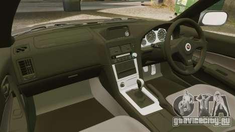Nissan Skyline GT-R NISMO S-tune Amuse Carbon R для GTA 4 вид изнутри