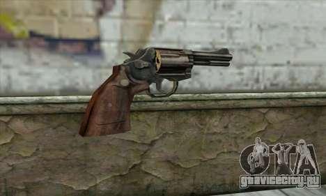 ManHunt revolver для GTA San Andreas второй скриншот