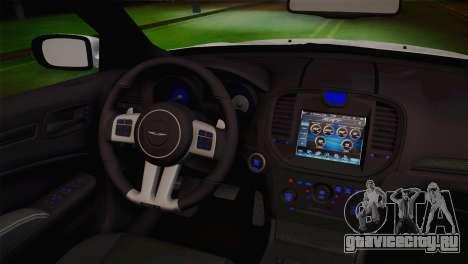 Chrysler 300 SRT8 Black Vapor Edition для GTA San Andreas вид справа