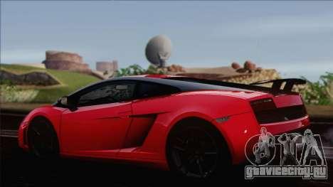 Lamborghini Gallardo LP570-4 Edizione Tecnica для GTA San Andreas вид слева