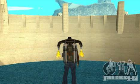 Новая дамба Шермана для GTA San Andreas второй скриншот