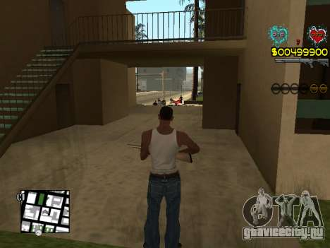 C-HUD Guns для GTA San Andreas восьмой скриншот