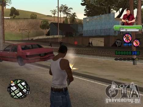 C-HUD Michael (GTA V) для GTA San Andreas второй скриншот