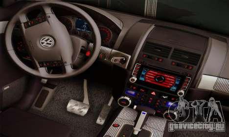 Volkswagen Touareg 2010 для GTA San Andreas вид сзади