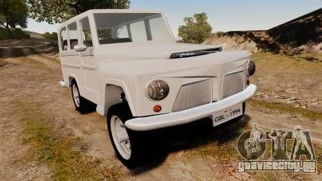 Rural Willys для GTA 4