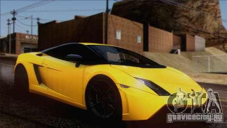Lamborghini Gallardo LP570-4 Edizione Tecnica для GTA San Andreas вид изнутри