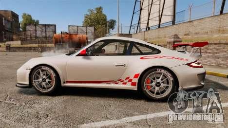 Porsche 997 Carrera GT3 RS для GTA 4 вид слева