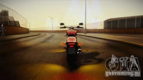 Yamaha Star Stryker 2012 для GTA San Andreas вид изнутри
