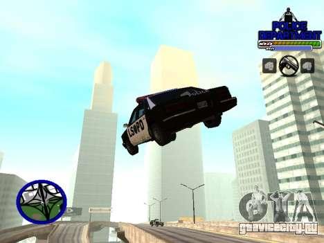 С-Hud Police Department для GTA San Andreas третий скриншот