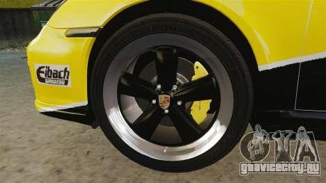 Porsche 911 Sport Classic 2010 RACE для GTA 4 вид сзади