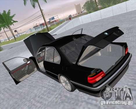 BMW 7-series E38 для GTA San Andreas вид сбоку