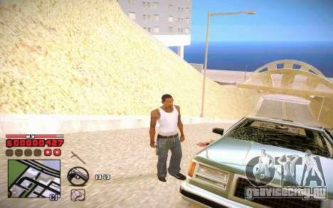 C-HUD by ComPot для GTA San Andreas третий скриншот
