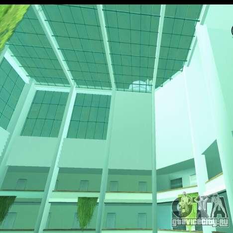 Новый интерьер радиоцентра для GTA San Andreas третий скриншот