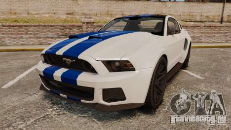 Ford Mustang GT 2013 NFS Edition для GTA 4
