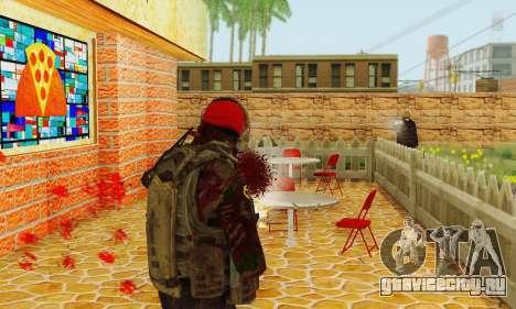 Blood On Screen для GTA San Andreas второй скриншот