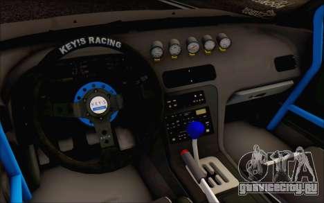 Nissan Silvia S13 Vertex для GTA San Andreas вид сзади
