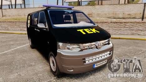 Volkswagen Transporter T5 Hungarian TEK [ELS] для GTA 4