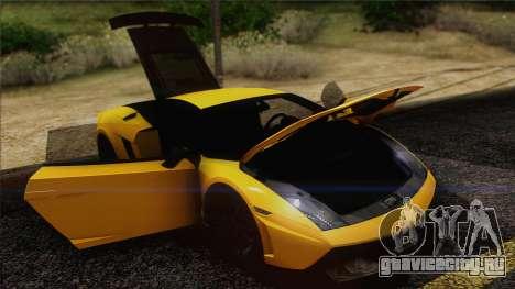 Lamborghini Gallardo LP570-4 Edizione Tecnica для GTA San Andreas салон