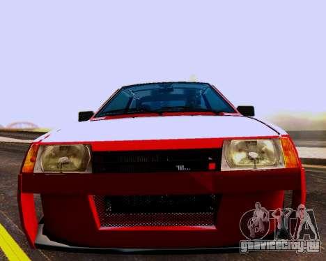 ВАЗ 2108 Tuneable для GTA San Andreas двигатель