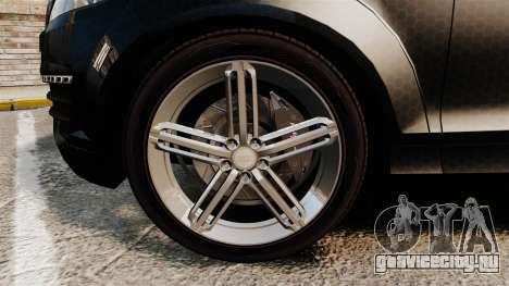 Audi Q7 TEK [ELS] для GTA 4 вид сзади