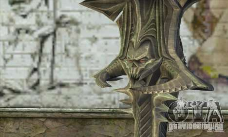 Daedric Sword для GTA San Andreas второй скриншот