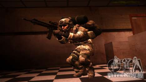 Ranger из Call Of Duty: Ghosts для GTA San Andreas