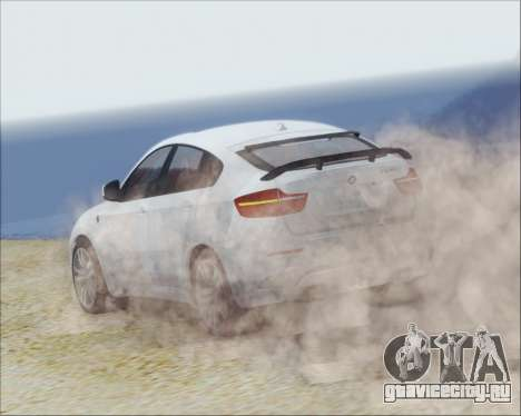 BMW X6 M 2013 Final для GTA San Andreas вид справа