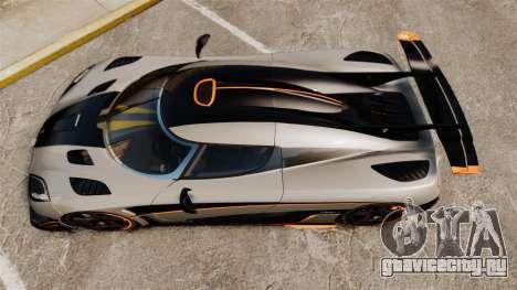 Koenigsegg One:1 [EPM] для GTA 4 вид справа