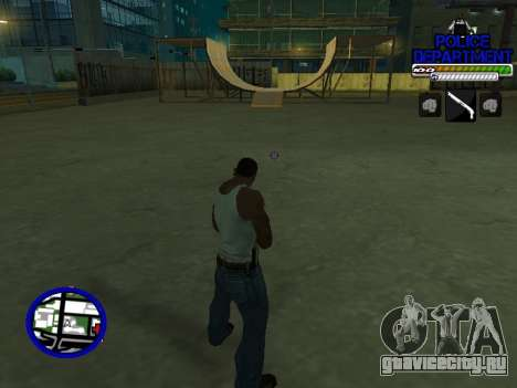 С-Hud Police Department для GTA San Andreas