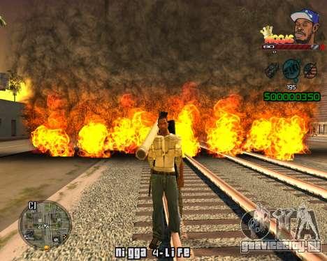 C-HUD Niggas для GTA San Andreas