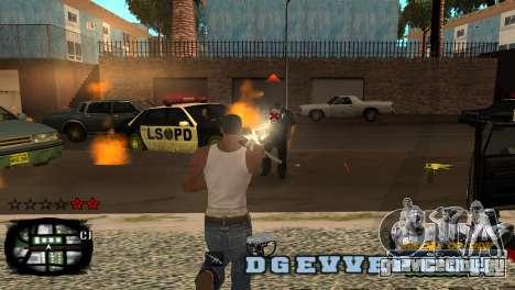 C-HUD Kings of Rap для GTA San Andreas второй скриншот