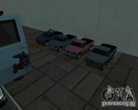RC Pickup Off Road для GTA San Andreas вид слева
