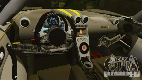 Koenigsegg One:1 [EPM] для GTA 4 вид сбоку