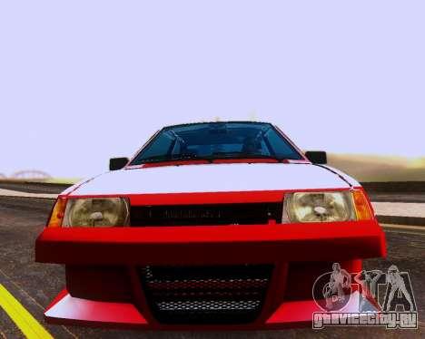 ВАЗ 2108 Tuneable для GTA San Andreas колёса