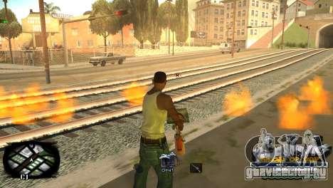 C-HUD Kings of Rap для GTA San Andreas четвёртый скриншот