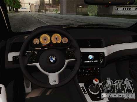BMW M3 E46 2005 для GTA San Andreas вид сбоку