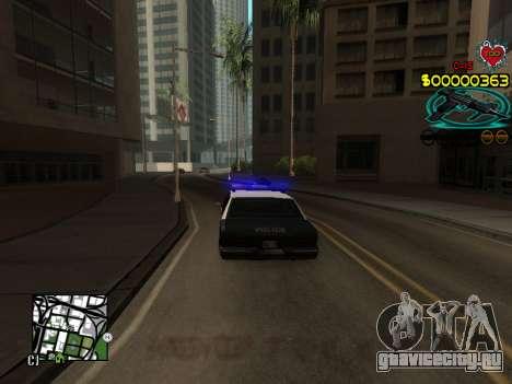 C-HUD Guns для GTA San Andreas пятый скриншот